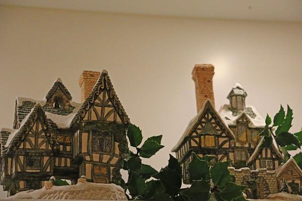 Detail-David Winter Christmas Village