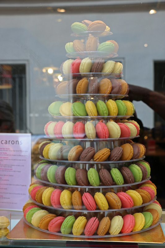 Mouth watering macaroons, a French favorite