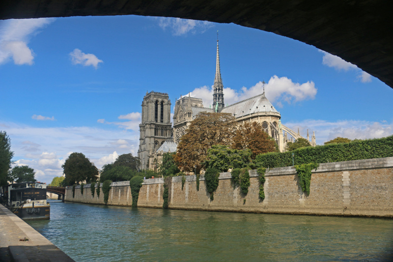 Notre Dame from the Left Bank of the Seine