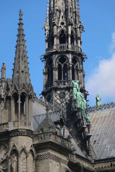 Detail-The Cathedral of Notre DAme