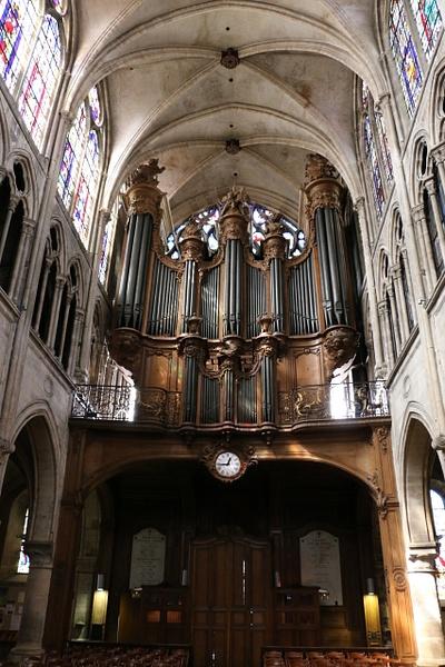 Organ of the Church of Saint-Séverin