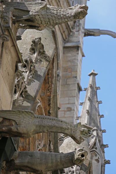 Gargoyles of the Church of Saint-Séverin