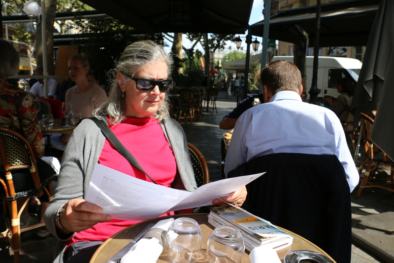 Lunchtime in the Latin Quarter