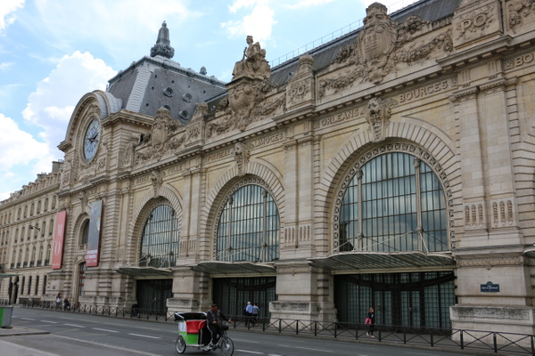 Musée d'Orsay, a magnificent art gallery that was originally a train station.