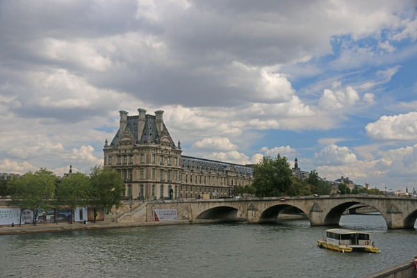 The Louvre and Pont Royal