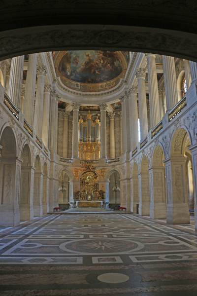 Versailles Chapel-The lower level for minor nobility