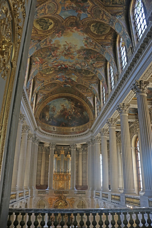 Versailles Chapel-The upper level for the Royal family