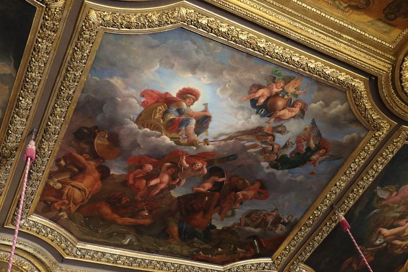 Versailles-Ornate ceiling