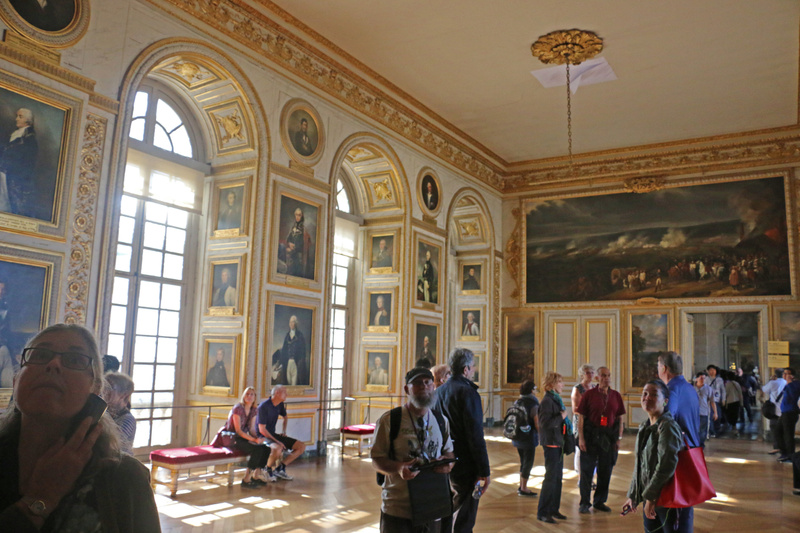 Palace of Versailles-Battle Gallery