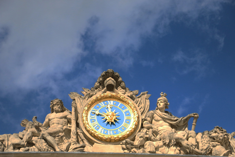 Palace of Versailles-Sun King Motif