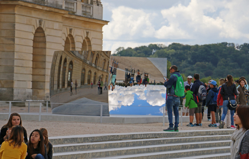 Versailles-Stainless Steel Reflecting Sculpture by Anish Kapoor
