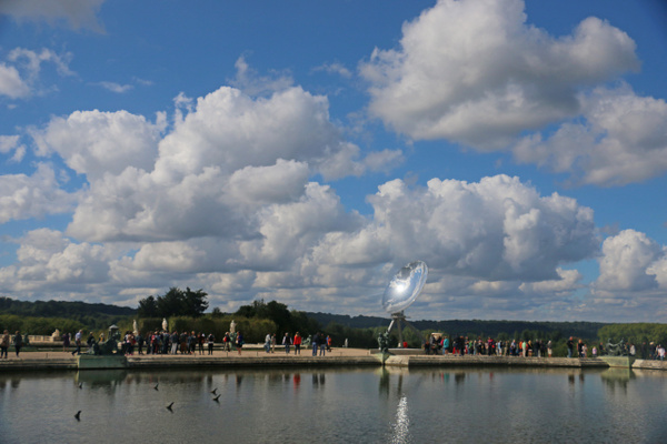 Versailles-Water Parterre and Kapoor's Sky Mirror