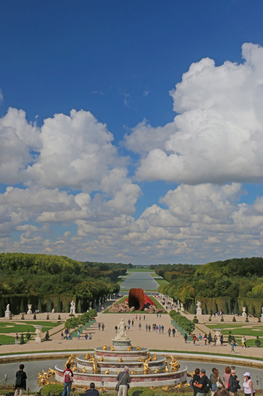The Gardens of Versailles-Latona Fountain and Parterre