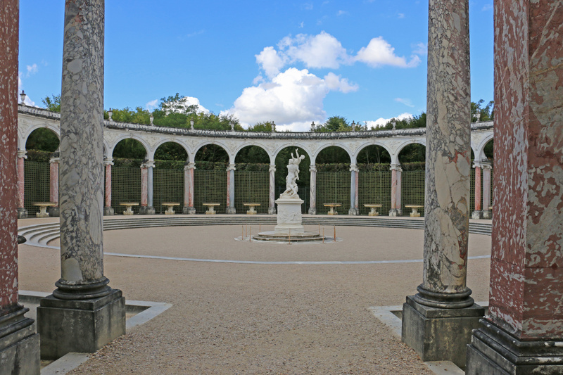 The Gardens of Versailles-The Colonnade Grove