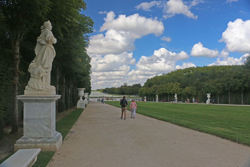 The Gardens of Versailles-The Royal Walk also known as the Green Carpet