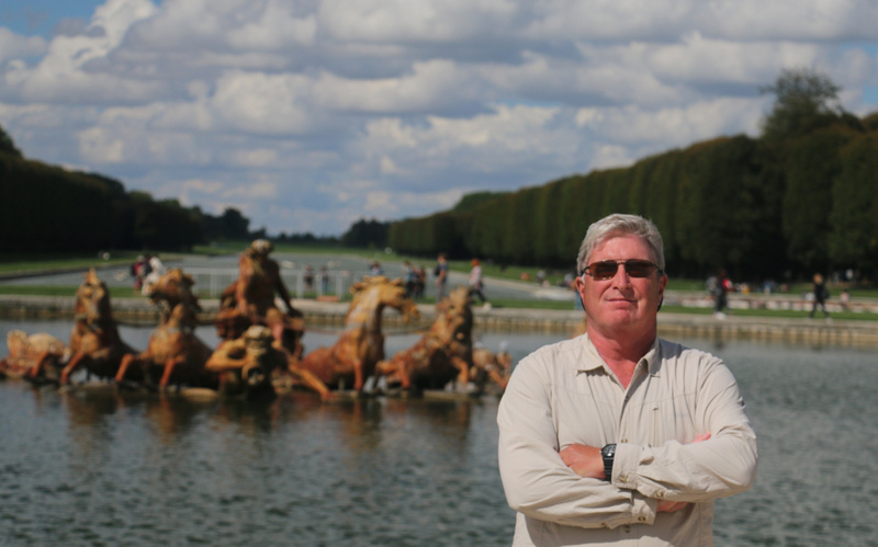 The Gardens of Versailles-Tom at the Apollo Fountain