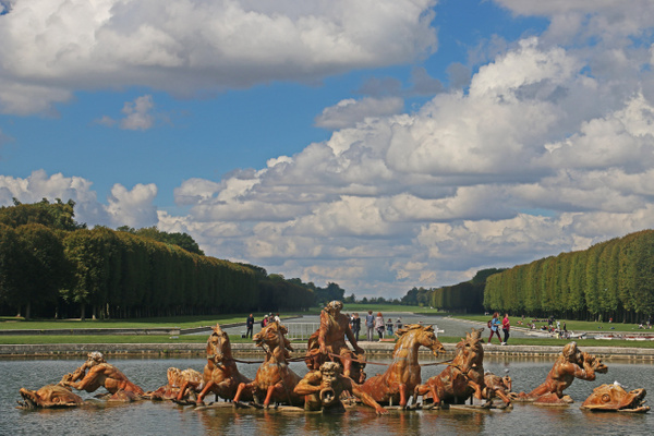 The Gardens of Versailles-The Apollo Fountain