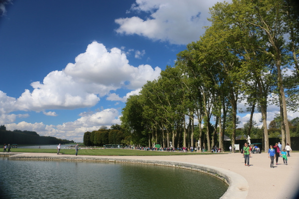 The Gardens of Versailles-The Grand Canal