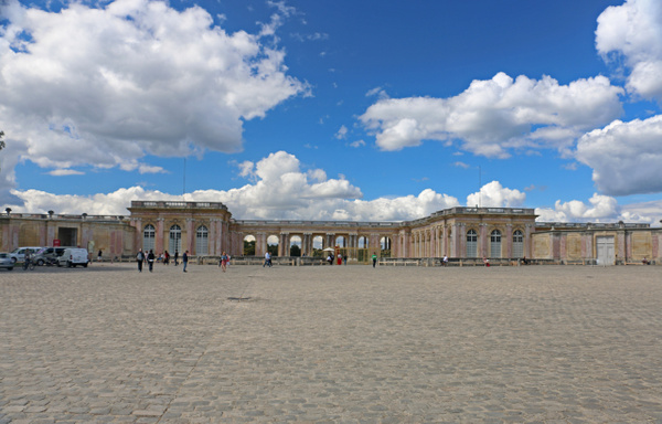 The Grand Trianon, Louis XIV's refuge from the pomp and ceremony of Versailles main palace complex