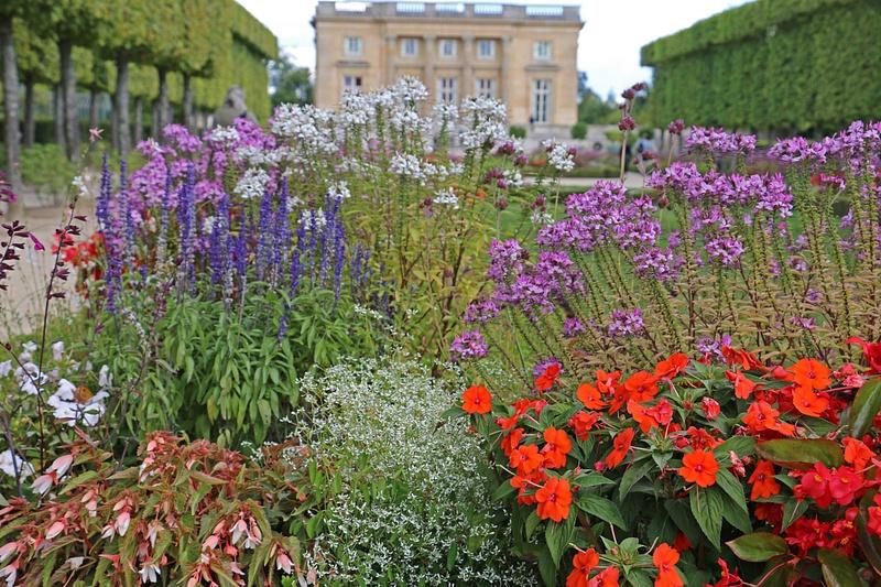The gardens of Petit Trianon