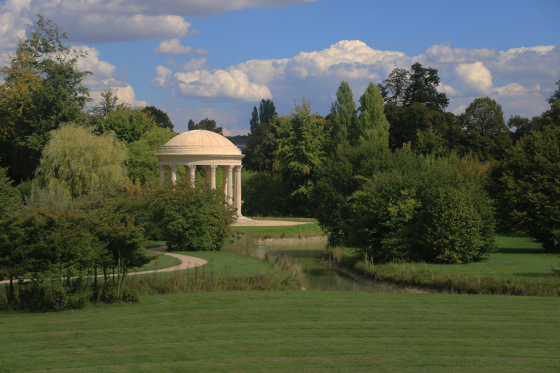The Temple of Love on the grounds of the Grand and Petit Trianon