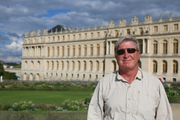 Tom at Versailles