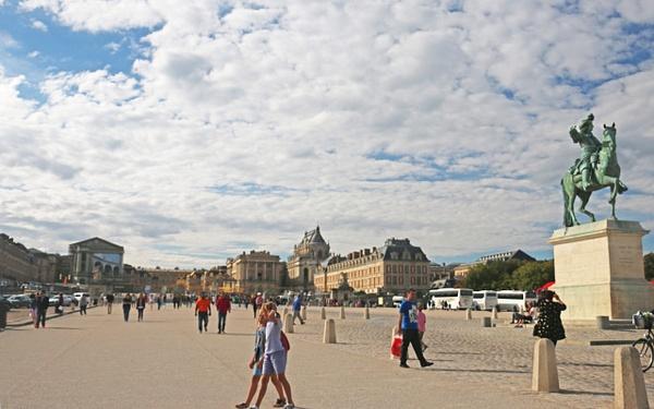 Place D'Armes, Versailles