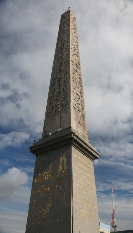 The Luxor Obelisk, centerpiece of The Place de la Concorde