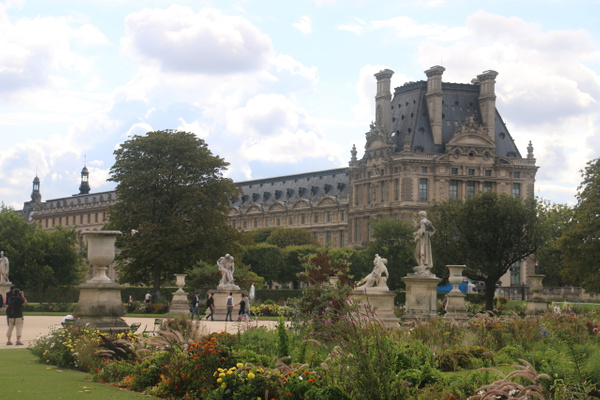 The Louvre from the Tuileries Garden