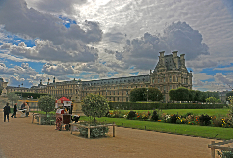 Tuileries Garden and The Louvre