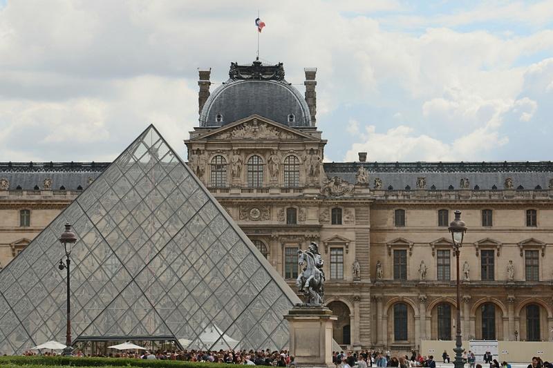 I.M. Pei's Pyramid, The Louvre