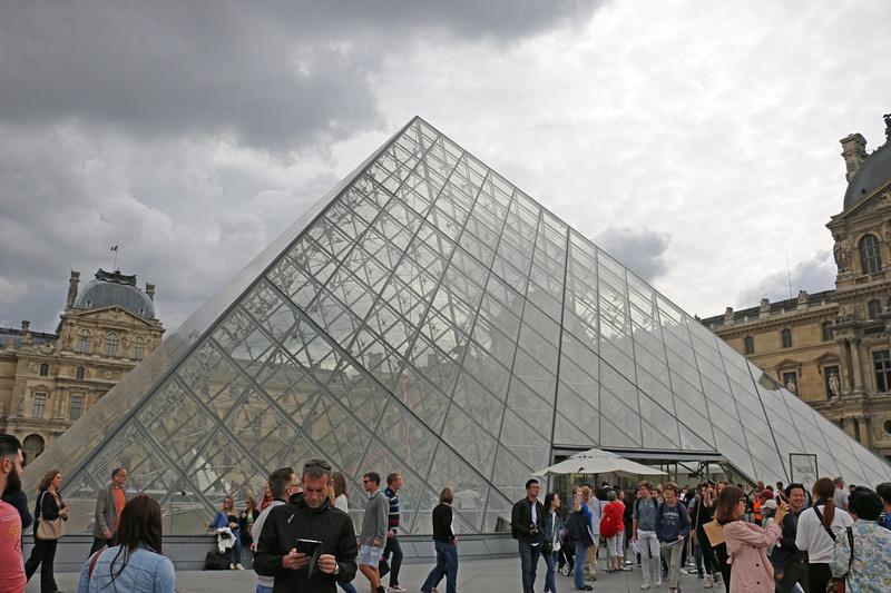 Pei's Pyramid, The Louvre