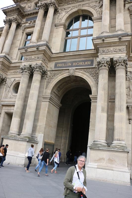 The Richelieu Pavillion, The Louvre
