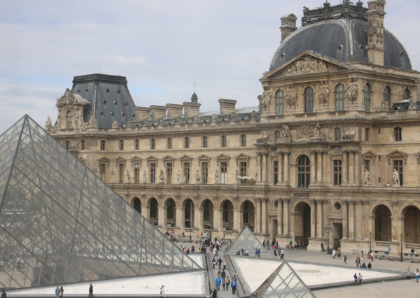 I.M. Pei's Pyramid and the Richelieu Wing, The Louvre