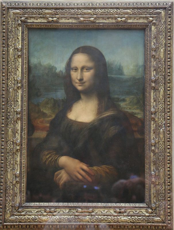 The Mona Lisa-much smaller than you'd imagine