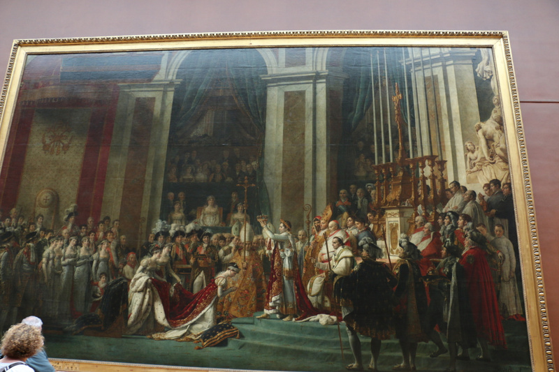 The Coronation of Napoleon by Jacques-Louis David (1807)