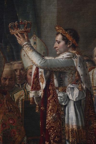 Detail-The Coronation of Napoleon