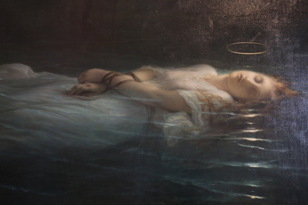 Young Christian Martyr by Paul Delaroche