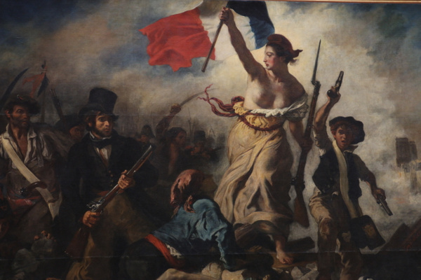 Liberty Leading the People (1830) by Eugene Delacroix
