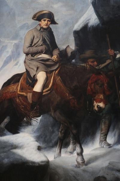 Napoleon Crosses the Alps-1848 by Paul Delaroche