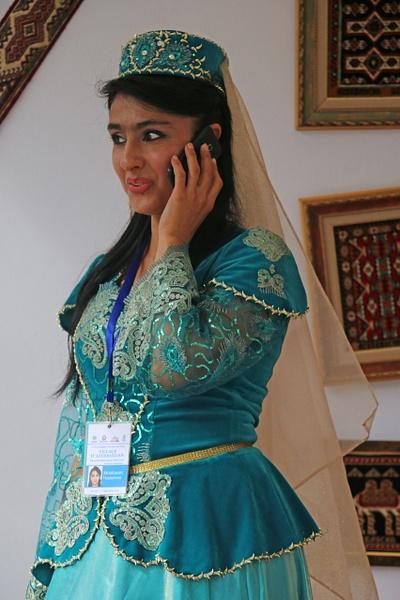 An Azerbaijani beauty  in Paris