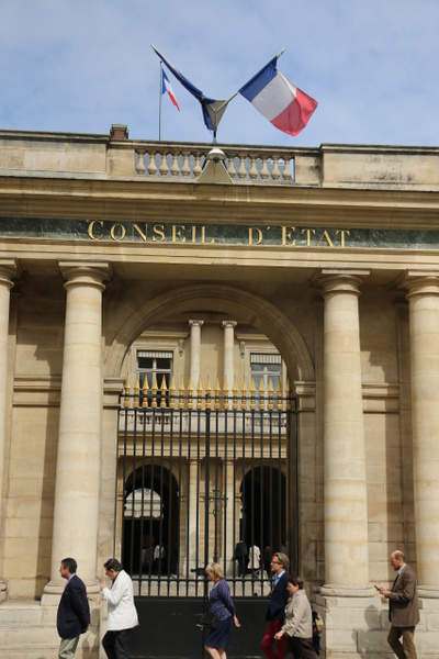 Conseil d'Etat in the Palais-Royal