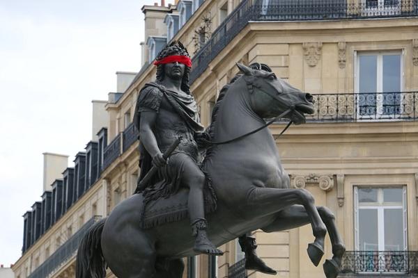 Louis XIV, Place des Victoires