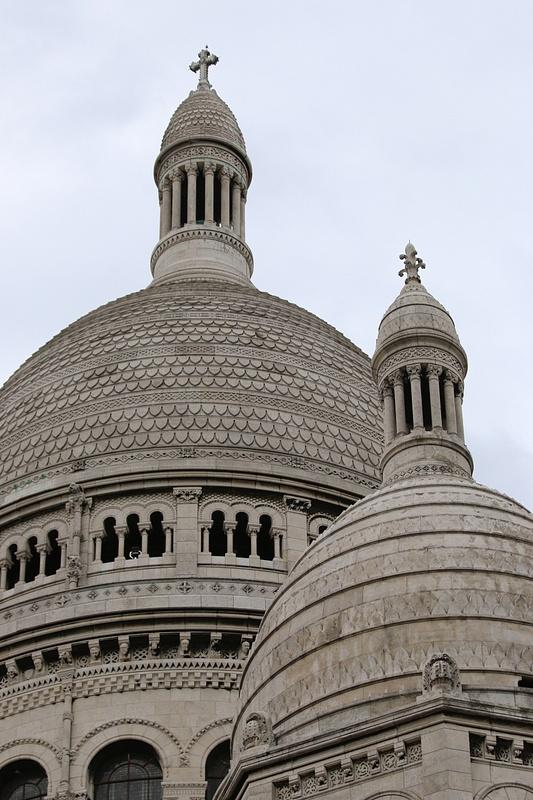 Sacré-Cœur Basilica's domes