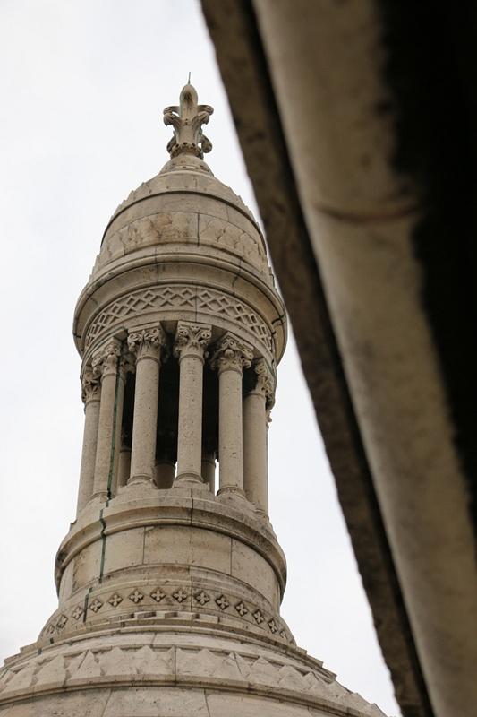 Climbing the tower of Sacré-Cœur Basilica