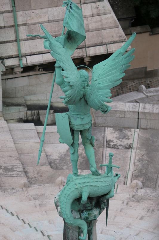 St Michael Archangel, Sacré-Cœur