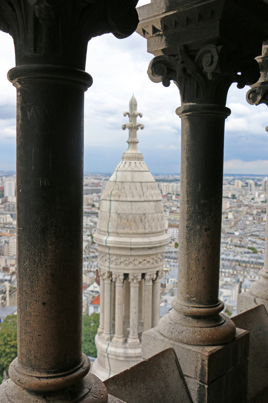 View from the top of Sacré-Cœur Basilica