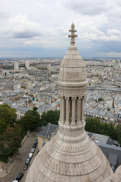 View from the top ofSacré-Cœur Basilica
