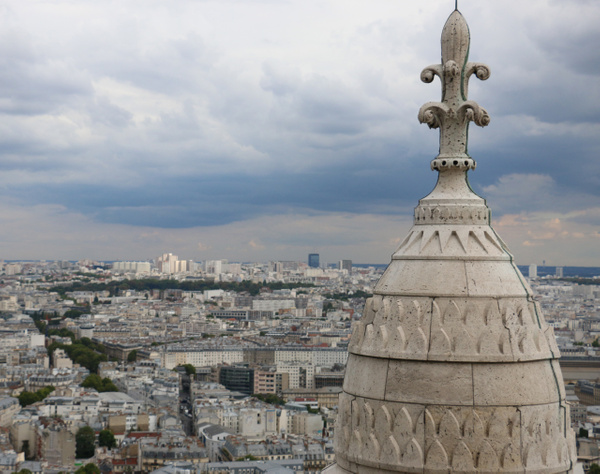 View from the top of Sacré-Cœur Basilica