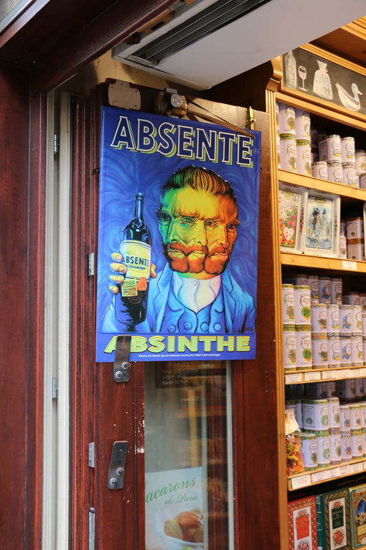 Vincent van Gogh. Yes, he had a taste for Absinthe